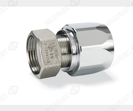 "Ferrule threaded hose coupling M 25-1"" SS"